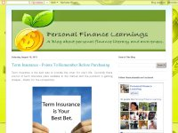 Personal Finance Learning