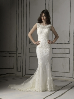 small bust wedding dress