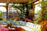 How to decorate home gardens