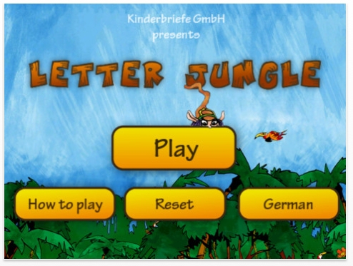 Letter Jungle Children's App