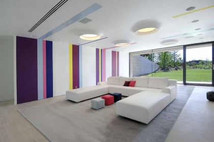 Optical Effect in Interior Design