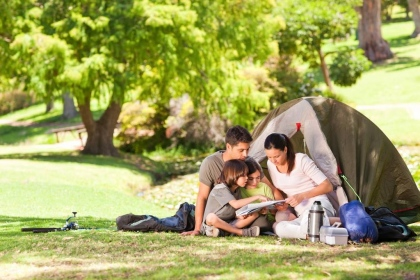 Things to take camping when traveling with the kids