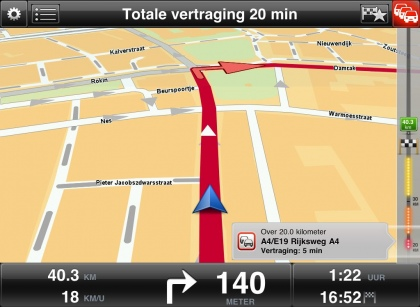 TomTom GPS for iPad