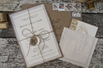 fabric in your invitations