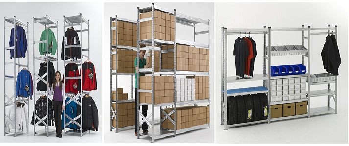 Stockroom shelving ideas for business intelligent operations